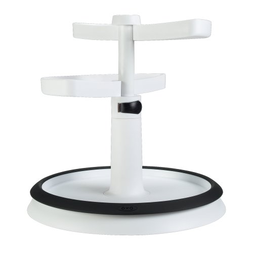 OXO 2 Tier Adjustable Turntable Divided