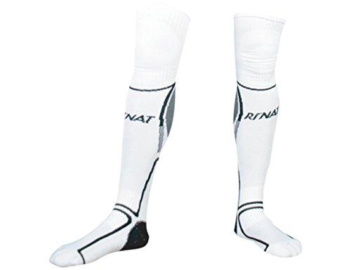 (Rinat Classic Soccer Goalkeeper Socks (White))