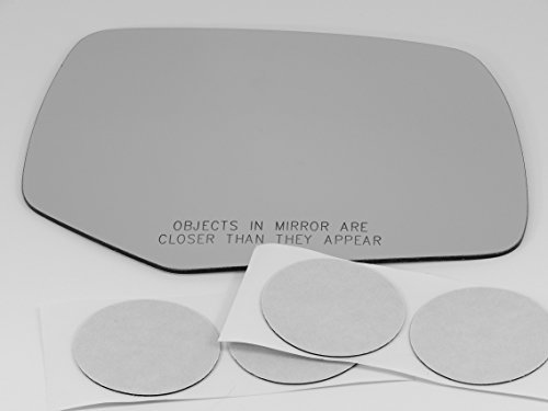08-12 Escape, 08-11 Mariner, Tribute Right Passenger Convex Mirror Glass Lens without original blind spot lens w/Adhesive USA non heated