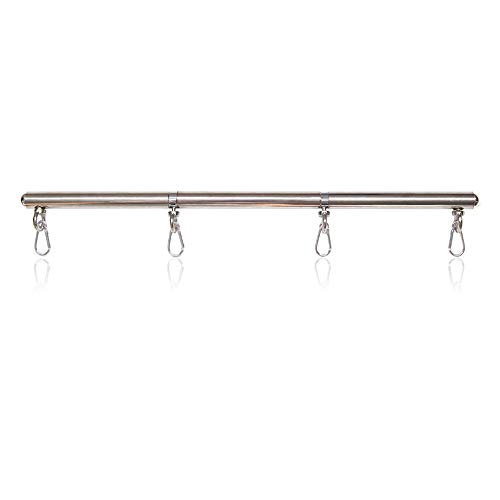 tengsun Adjustable Stainless Steel Spreader Bar Indoor Sports Training aid Tools (not Included ()