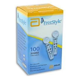 Freestyle Lancets - 100 ct. (Pack of 4)