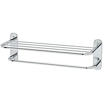 Gatco 1541 Double Towel Rack With Chrome Finish Mounted