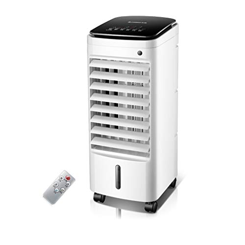 Air Conditioning Fan, Refrigerator Single Cooling Fan Household Dormitory humidification Mobile air-Conditioning Fan Water-Cooled Small air Conditioner