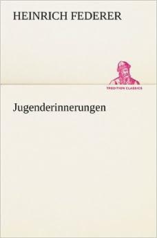 Book Jugenderinnerungen (TREDITION CLASSICS)