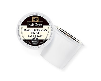 Peet's Coffee & Tea Coffee Major Dickason's Blend K-Cup Portion Pack for Keurig K-Cup Brewers, 88 Count