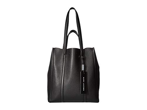 Marc Jacobs Women's The Tag Tote 31, Black, One Size