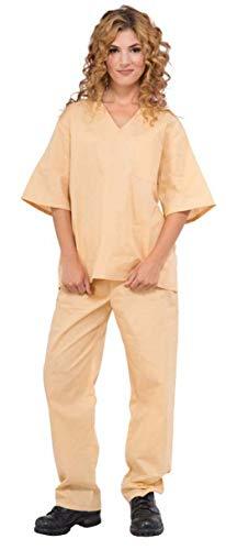 Amazon.com: Forum Novelties Prisoner Suit, Estándar, Beige ...