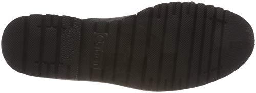 grey 39 Gris Dark Shoes Mujer Zapatos Comfort Gabor Cordones Sport de Derby para vdd7zPwqSx