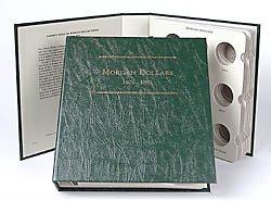 Imachine Littleton Morgan Dollars 1878-1891 Archival Quality Album by Imachine