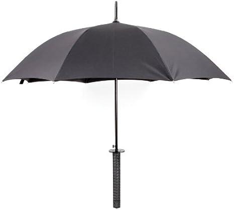 Kikkerland Samurai - Paraguas (Negro): Amazon.es: Ropa y accesorios