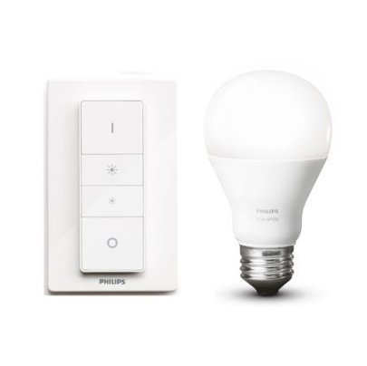 Philips Hue inalámbrico Kit de (E27, LED, Smart bombilla y regulador de intensidad: Amazon.es: Iluminación