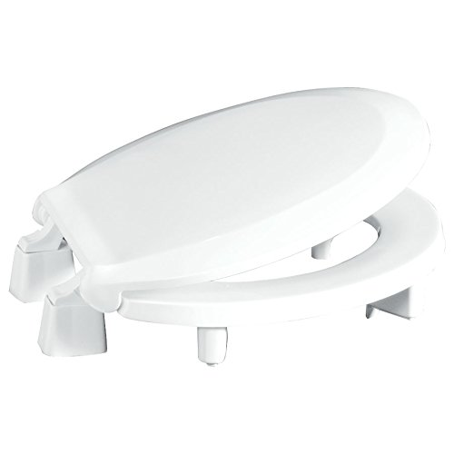Centoco 3L440STS-001 Plastic Round Toilet Seat with Closed Front, White (Seat Toilet 001)