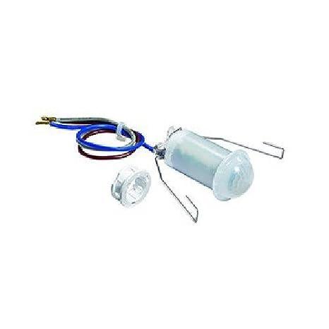 Esylux 5142212 - Detector de movimiento de la cubierta de 360 grados, unos 6 m, 230 v, mdc 360i-6 mini, blanco: Amazon.es: Bricolaje y herramientas