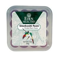 UPC 129500562594, Eden Foods Ume Pickled Plum Paste 7.05 Oz