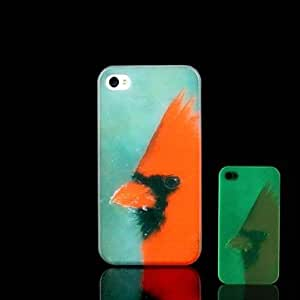 SHOUJIKE iPhone 4/4S compatible Graphic/Special Design/Glow in the Dark Back Cover