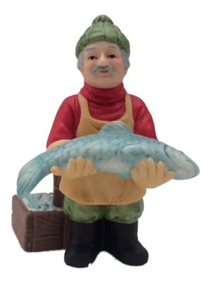 Colonial Village Collection The Fish Monger. 10065