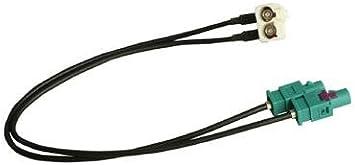 Doppel Fakra Antennenadapter Für Vw Seat Skoda Rns 510 Rns 310 Rns 315 Rcd 210