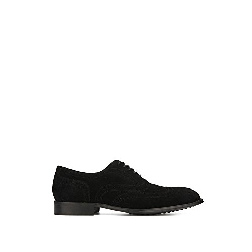 Kenneth Cole New York Suede Wingtip Oxford Black