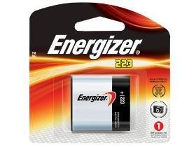 4 X Energizer Crp2 El223A 6 Volt Lithium Battery (223)
