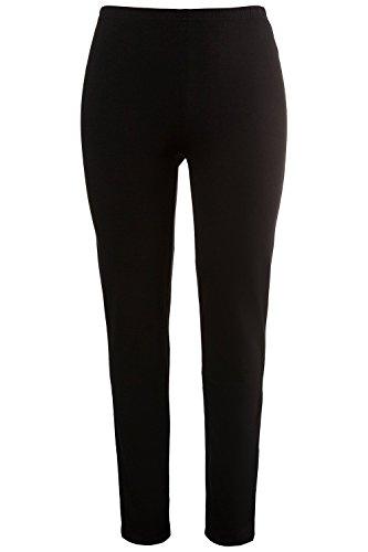 Ulla Popken Women's Plus Size Basic Long High Stretch Leggings Black 20/22 701081 10