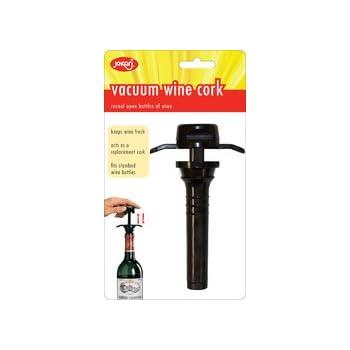 Amazon Com Jokari Wine Cork Air Vac 2 Pack Wine Bottle