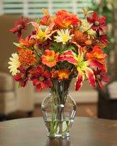 Perennial Autumn Silk Flower Arrangement Buy Online In Latvia At Desertcart