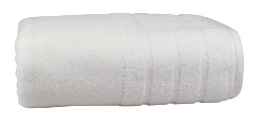 - Luxury Bath Towel, Made in the USA with 100% Cotton from Africa - Made Here by 1888 Mills, White