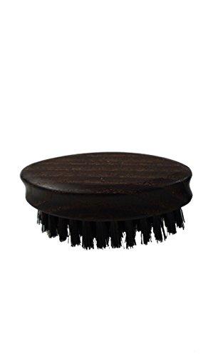 Bartbürste aus Eschenholz mit Wildschweinborsten (ca. 65 x 35 mm)