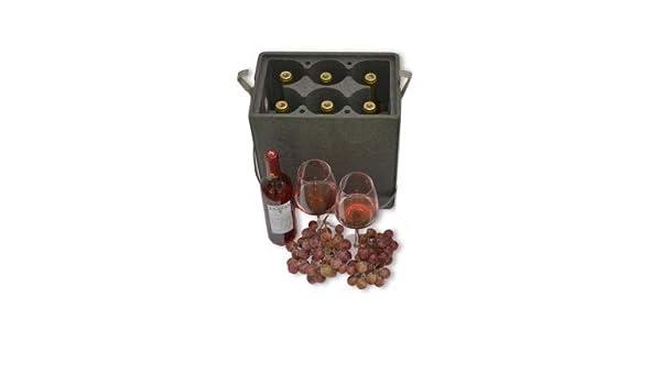 Envase Nevera para Botellas 6 cavidades (Pack 3 Unid.): Amazon.es ...