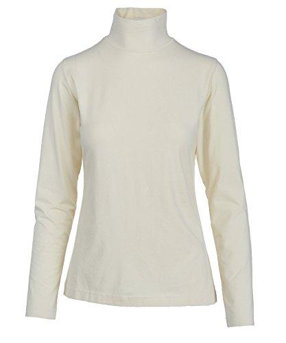 White Cotton Turtleneck - 7