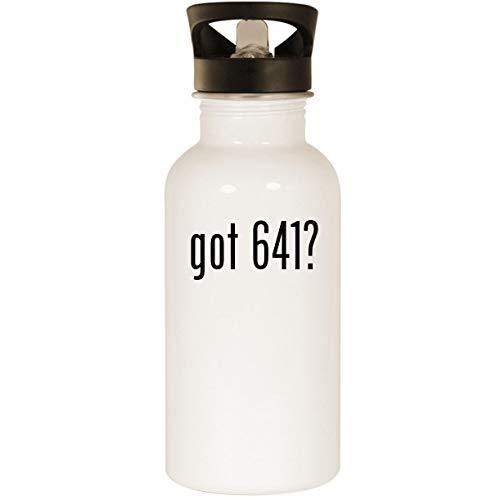 (got 641? - Stainless Steel 20oz Road Ready Water Bottle, White)