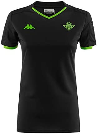 Kappa Official Jersey Away Wo Betis Camiseta, Mujer