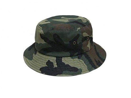 Easy-W Wd Camo 100% Cotton Hat Cap Bucket Boonie Unisex by Easy-W