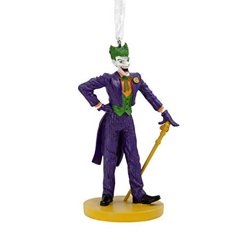 Hallmark Christmas Ornaments, DC Comics The Joker Ornament ()