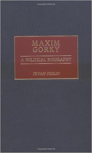 Livres à télécharger sur ipodMaxim Gorky: A Political Biography B000QED0M0 (French Edition) PDF PDB CHM
