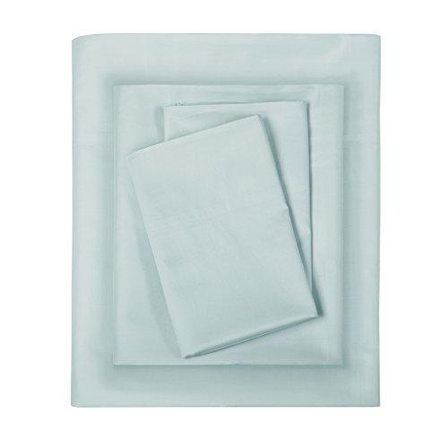 Sleep Philosophy SHET20-248 300TC Liquid Cotton Sheet Set Full Seafoam ()