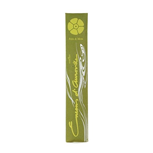 Oakmoss Incense Sticks (Maroma Incense Encens d'Auroville 10 Sticks, Fern and Moss by Maroma)