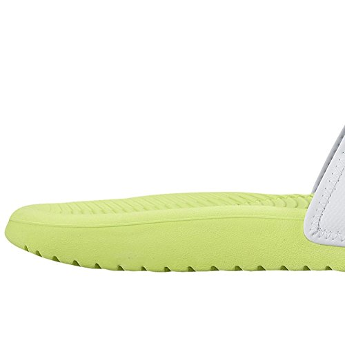 Kawa Sandals White Adjust Mens Synthetic Volt Nike 5xqTBawnI