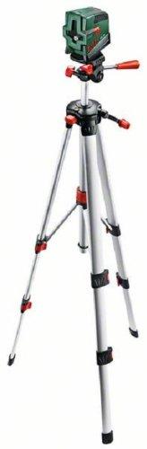 126 opinioni per Bosch PCL 20 Set Livella Laser Multifunzione, Verde/Argento