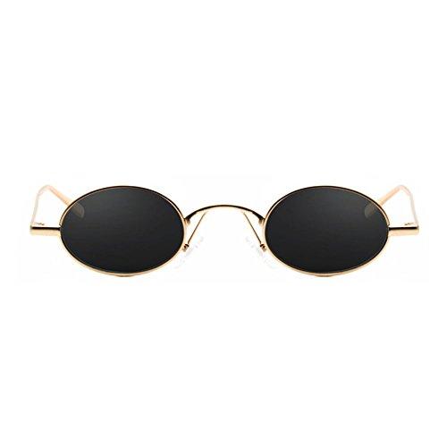 Protección 3 Sol Sra de DT Gafas Style de Frame Harajuku de Gafas 4 Sol UV La Color Vintage IqUYFFaxw