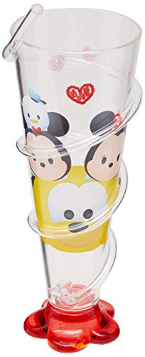 Copo Acrilico Tsum Tsum, Disney, Transparente