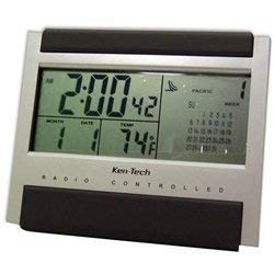 Atomic Radio Controlled LCD Alarm Clock by Ken-Tech