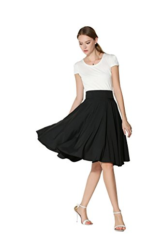 Midi skirts for women high waist plus size - Trenters.com