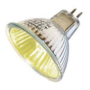 Ushio BC2367 1000580 - FNC/FG JR12V-50W/SP12/FG/Yellow - 50W Yellow MR16 Light Bulb, 12V, 12 Degree Spot by Ushio Sp12 Light Bulb