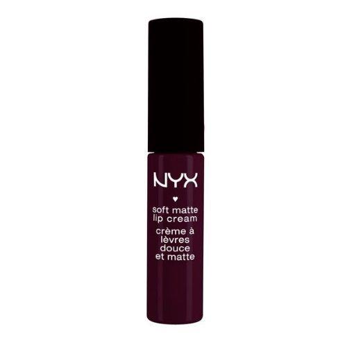NYX Soft Matte Lip Cream - Transylrania - SMLC 21 Matte Deep Violet 0.27 fl. oz 8 ml (Review Nyx Soft Matte Lip Cream Antwerp)