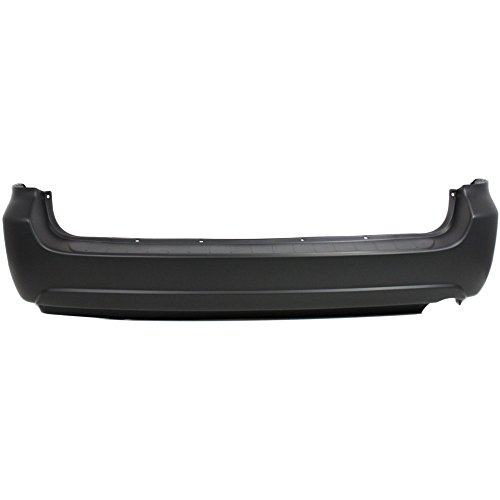 New Evan-Fischer EVA17872052170 Rear BUMPER COVER Primed for 2004-2010 Toyota Sienna