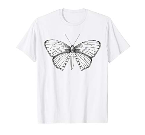 Balisong Flipping Butterfly Knife Gift - Artistic Knife Gift T-Shirt