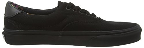Vans Era 59, Sneakers para Hombre Negro (Black Bloom - Black/Black)