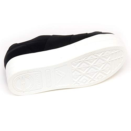 Nero On F4436 Slip Fessura Black Woman Scarpe Sneaker Donna Shoe Tissue vaRSAP