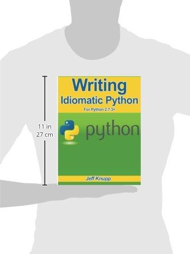 Writing Idiomatic Python Pdf